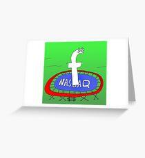 Binary News Options Binaires Facebook Nasdaq Greeting Card