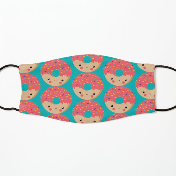 Kawaii Illustration Donut für Kinder Maske für Kinder