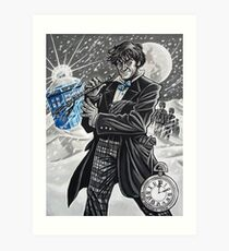 The Second Doctor Art Print