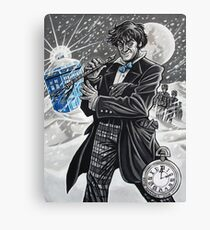 The Second Doctor Canvas Print