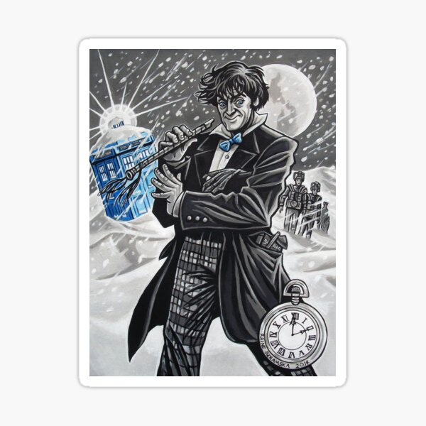 The Second Doctor Sticker