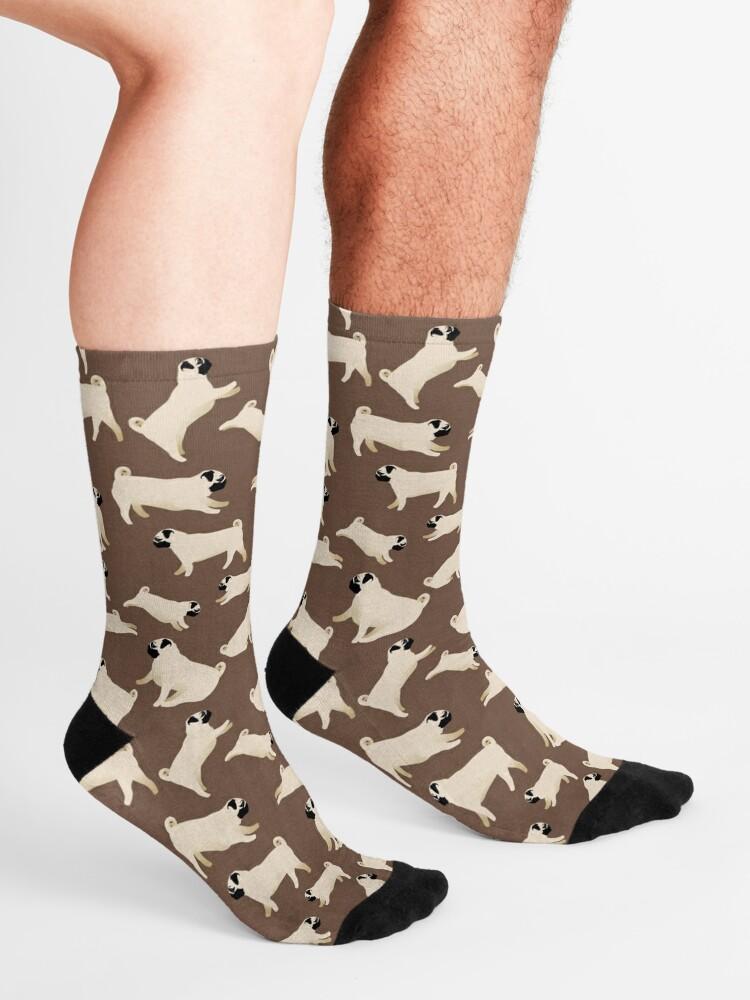 Alternate view of Playful Pugs Socks