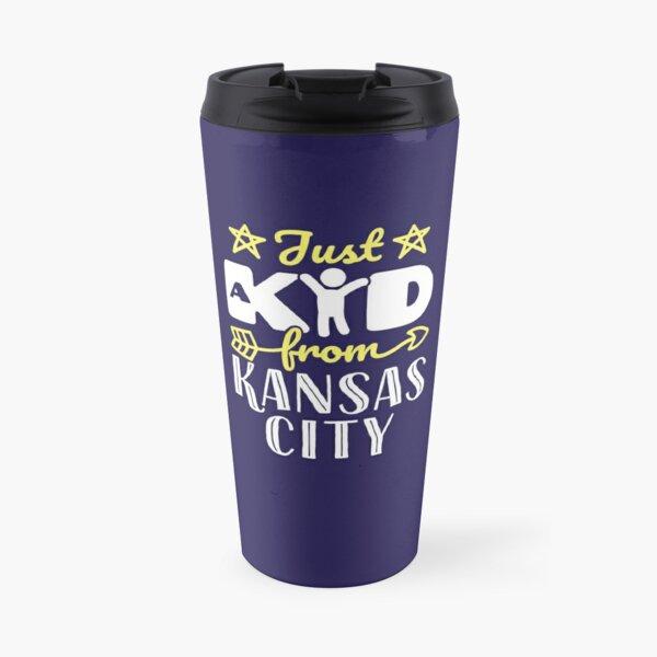 Just a Kid from Kansas City Travel Mug