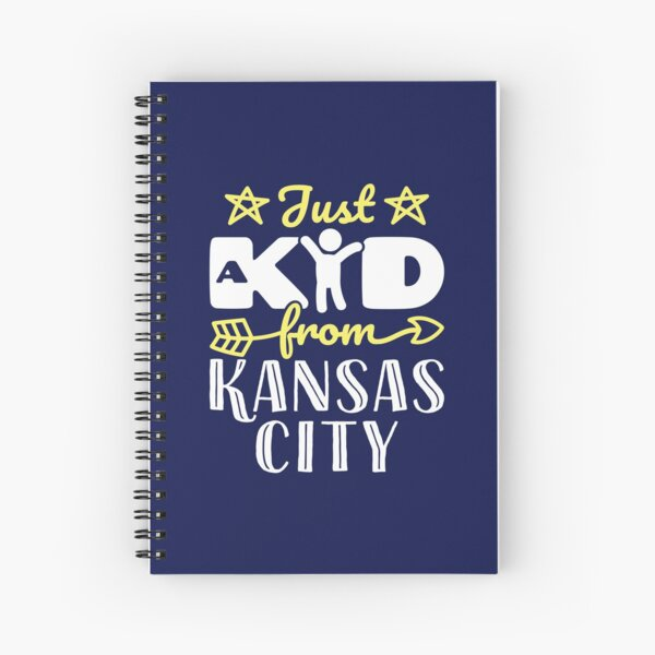 Just a Kid from Kansas City Spiral Notebook