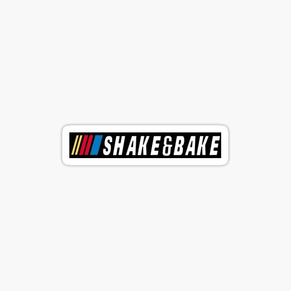 SHAKE AND BAKE VINTAGE BUMPER STICKER  Sticker