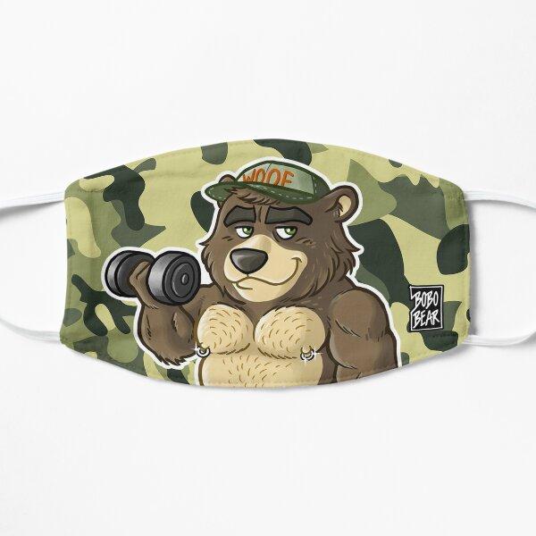 THICC BEAR - BEARZOO SERIES Flat Mask