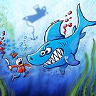 Sharks are Furious, Stop Finning! by Zoo-co