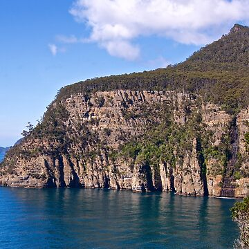 TASMAN PENINSULA ~ Waterfall Bay & Clemes Peak by tasmanianartist by tasmanianartist