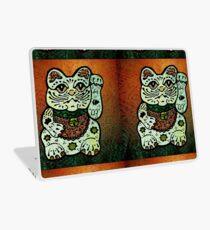 'Shiny Lucky Cat #3' Laptop Skin