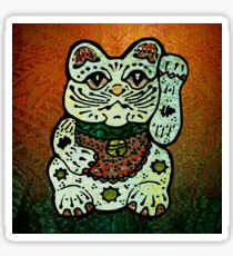 'Shiny Lucky Cat #3' Sticker