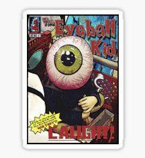 The Eyeball Kid: Comic Cover Sticker