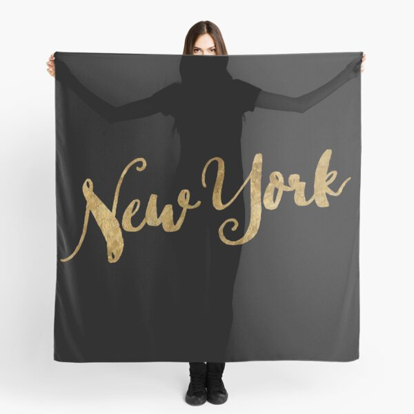 Golden Look New York Scarf