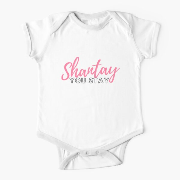 Shantay you stay Short Sleeve Baby One-Piece
