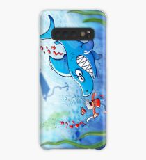 Sharks are Furious, Stop Finning! Case/Skin for Samsung Galaxy