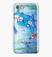 Sharks are Furious, Stop Finning! iPhone Case/Skin