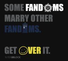 Some Fandoms Marry Other Fandoms - SuperWhoLock