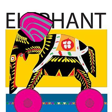 Elephant  by piplu