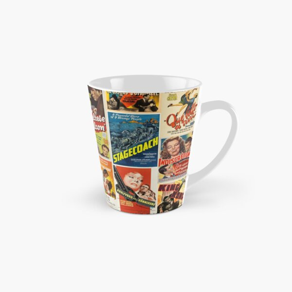 Classic Movie Poster Collage Tall Mug