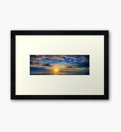 Beneath the Morning Framed Print