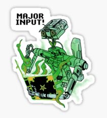 Major Input Sticker