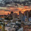 Sydney Sunset by Jason Ruth