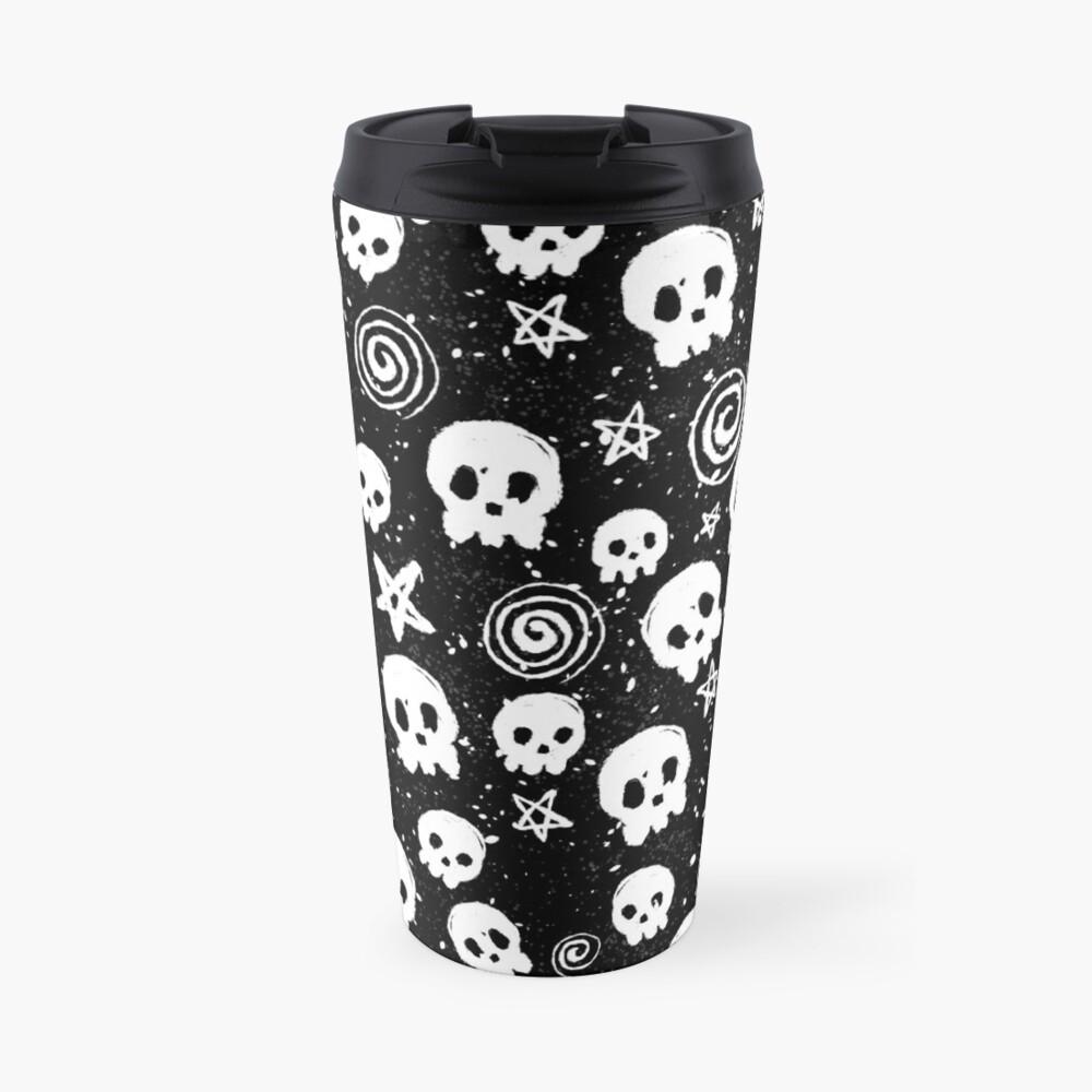 Death n' Swirls Travel Mug