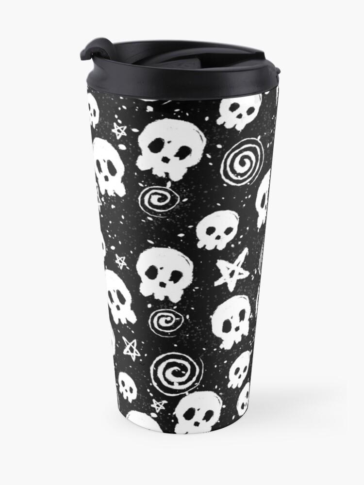 Alternate view of Death n' Swirls Travel Mug