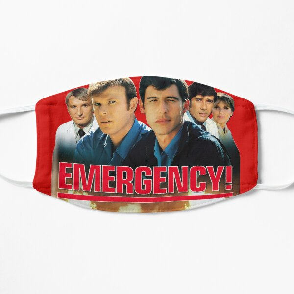 Retro Vintage 70s Medical Drama EMERGENCY! Tributo Mascarilla