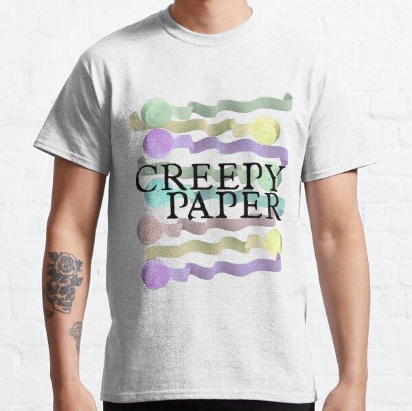 Vampires Love Creepy Paper Classic T-Shirt