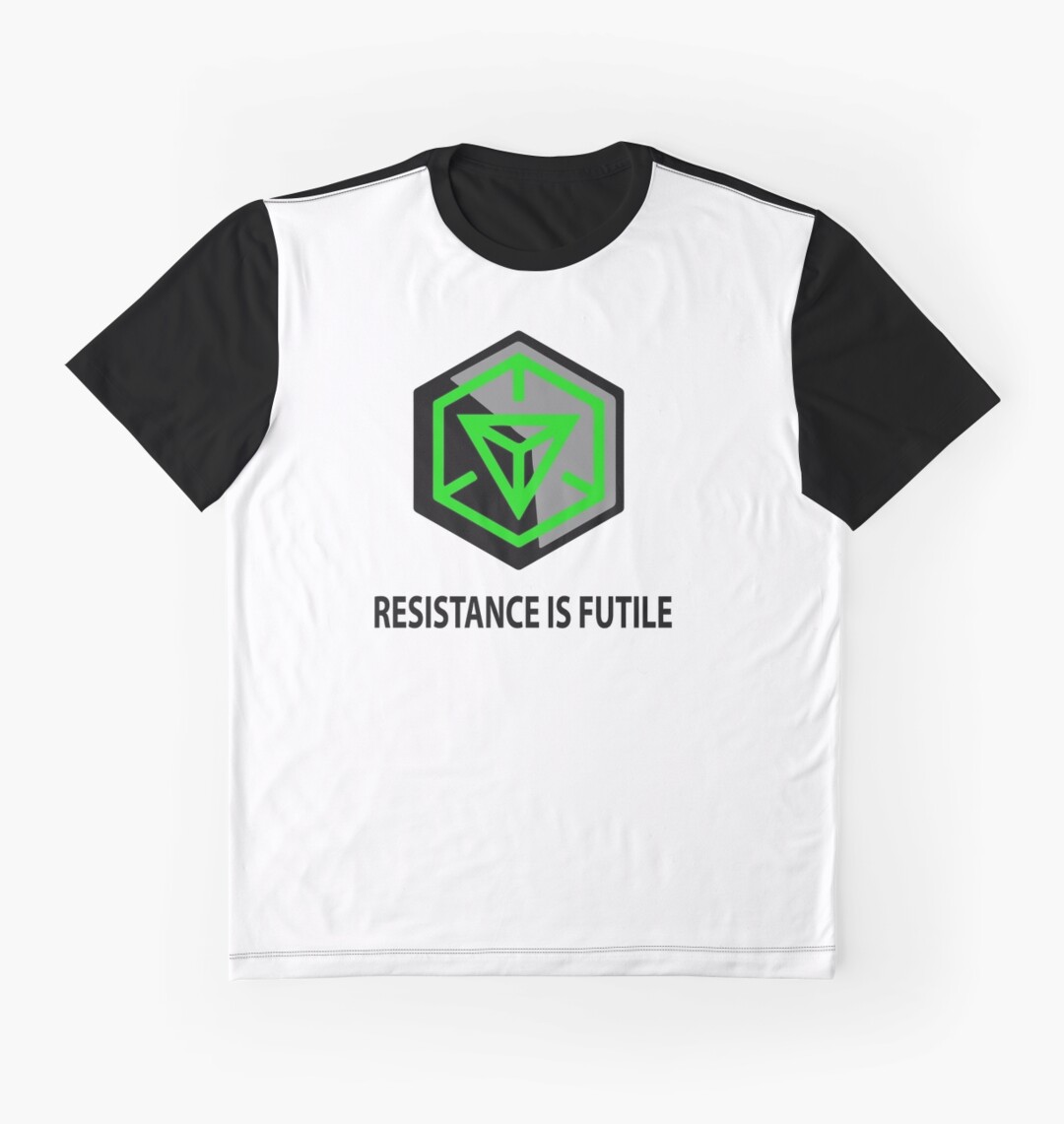 Design shirt redbubble - Resistance Is Futile Ingress Enlightened Design