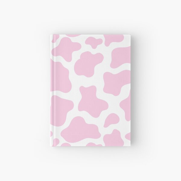 pink cow print! Hardcover Journal