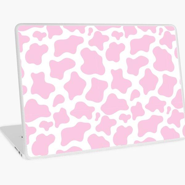 pink cow print! Laptop Skin