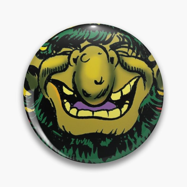 Grinning Picknose Pin
