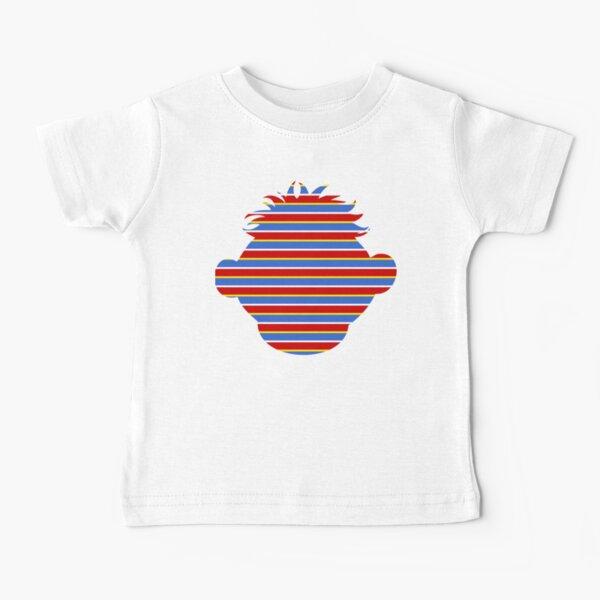ernie striped head Baby T-Shirt