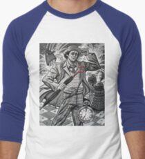 The Seventh Doctor Men's Baseball ¾ T-Shirt