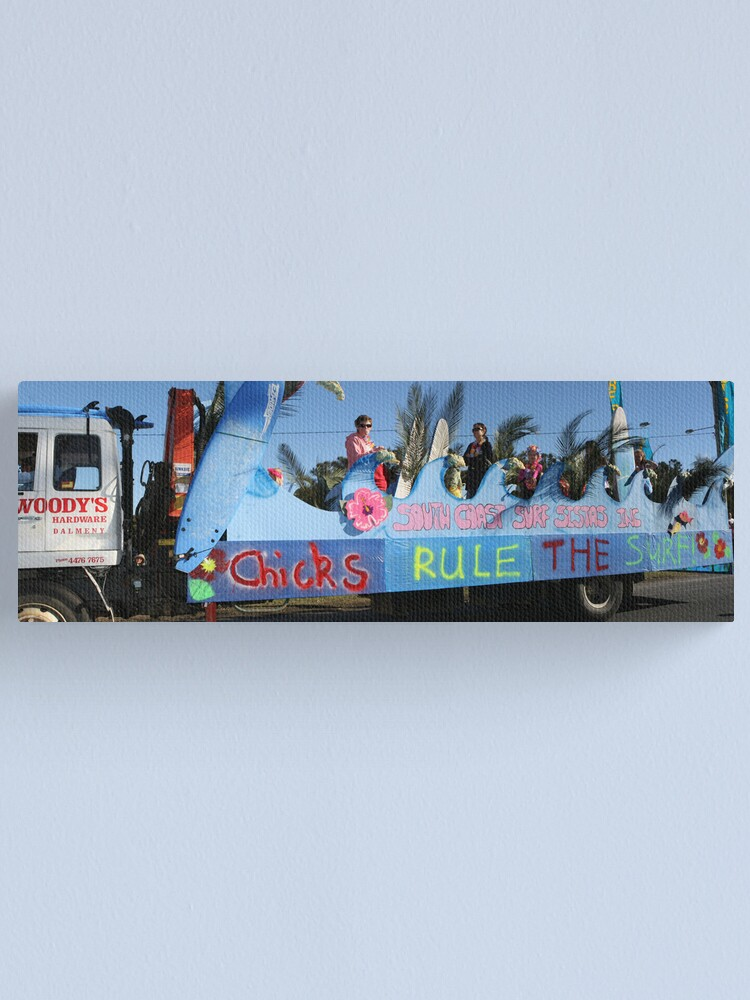 Alternate view of Narooma Oyster Festival Canvas Print