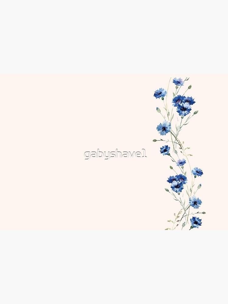 Blue Flower by gabyshave1