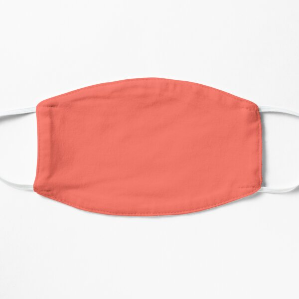 Pantone Color of the Year Living Coral 2019 - PLAIN SOLID LIVING CORAL -100 CORAL AND PINK SHADES ON OZCUSHIONS ON ALL PRODUCTS Mask