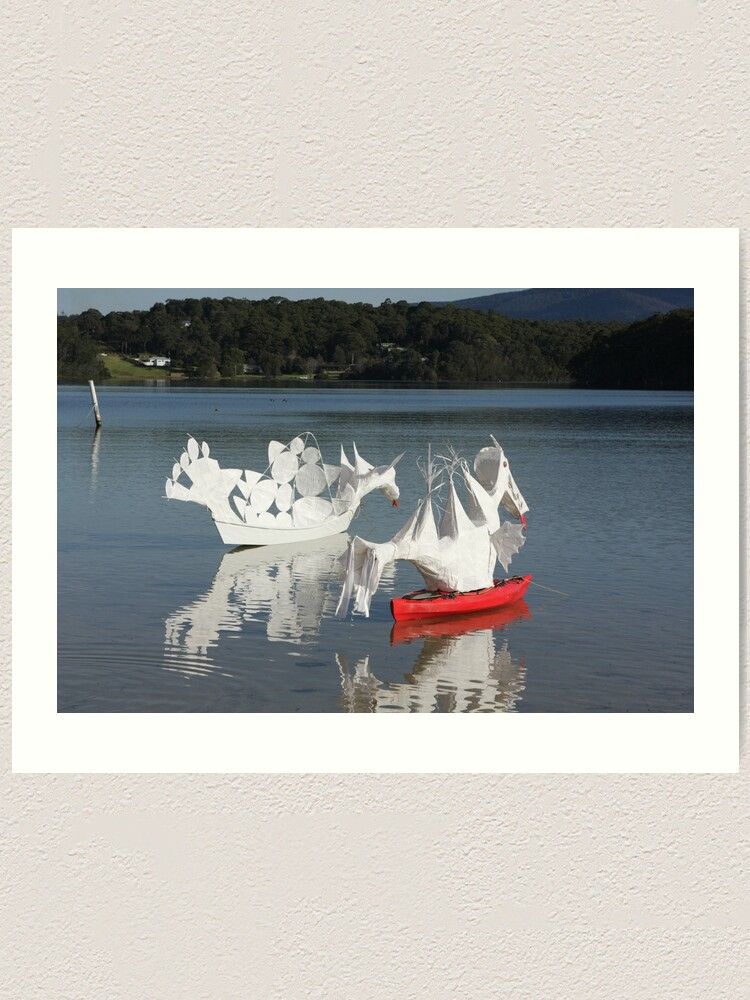 Alternate view of Narooma Oyster Festival Art Print