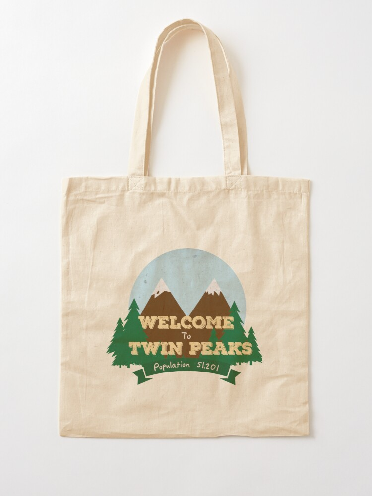 Alternate view of Welcome To Twin Peaks Tote Bag