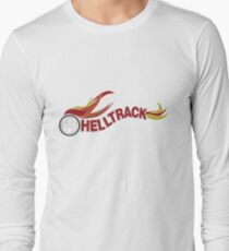Hell Track Logo From the 80's Movie Rad  Long Sleeve T-Shirt