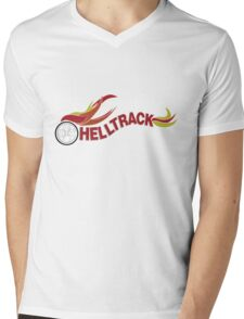 Hell Track Logo From the 80's Movie Rad  Mens V-Neck T-Shirt