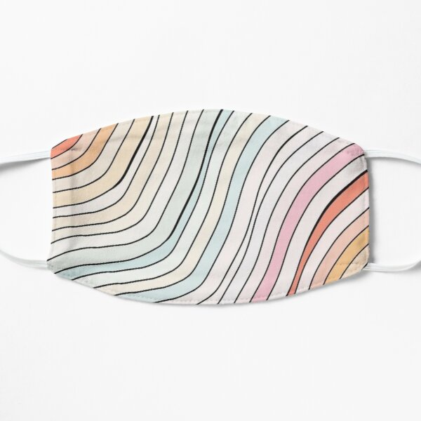 Rainbow Wave Mask