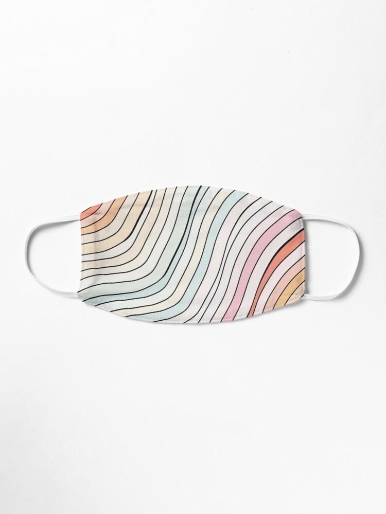 Alternative Ansicht von Regenbogenwelle Maske