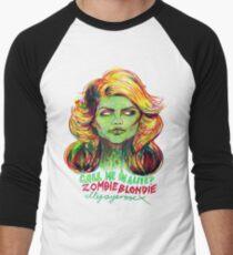 Zombie Blondie Men's Baseball ¾ T-Shirt