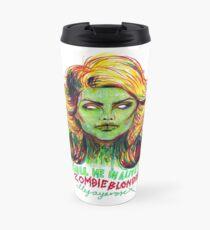 Zombie Blondie Travel Mug