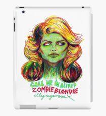 Zombie Blondie iPad Case/Skin