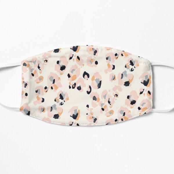 Pink Leopard Flat Mask