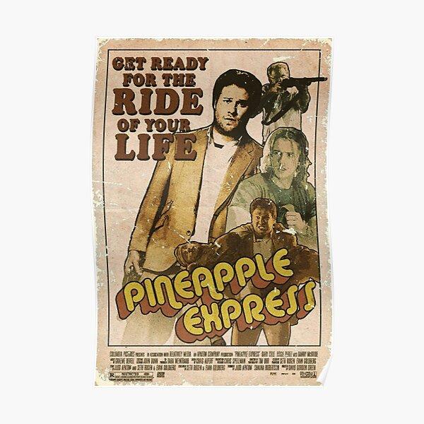 Pineapple Express - Seth Rogen, James Franco, Danny Mcbride Poster