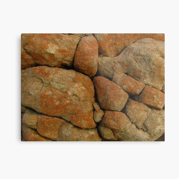 boulder close-up Metal Print